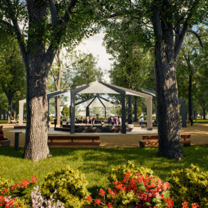Revitalizácia Mestského parku v Banskej Bystrici 05