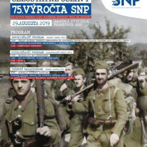 Program Oslavy 75. vyrocia SNP