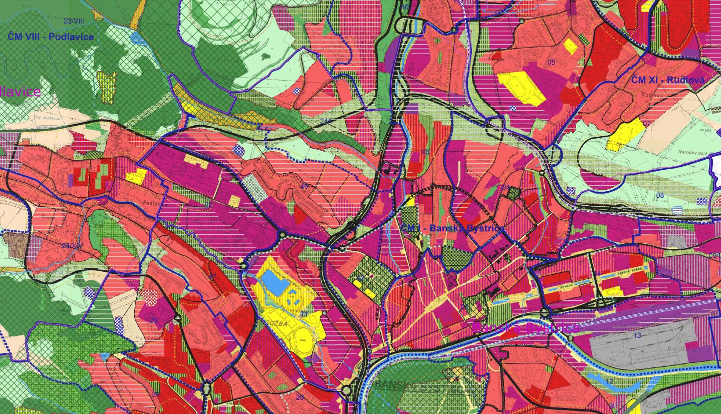 Územný plán mesta