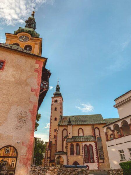 Banská Bystrica počas leta